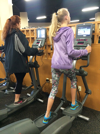 Jumpstart students in our state-of-the-art Fitness Center