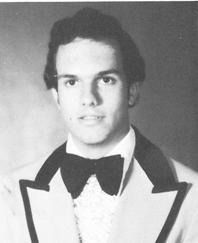 Jim Giovannoni '81, graduation portrait.
